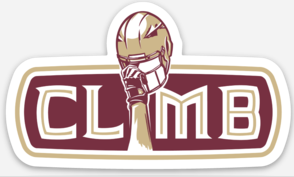 CLIMB Helmet Sticker