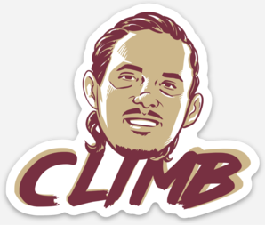 Cornrow Norvell Climb Sticker